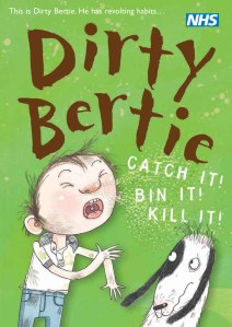 Dirtie Bertie can help teach your children about hygiene