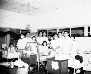Singapore Influenza Ward 1957