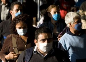 Surgical masks in public are most effective when we all have them on
