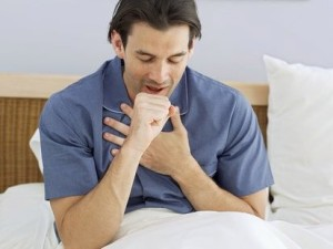 New study reveals that you are contagious for about a week. Cessation of your cough is probably a better sign.