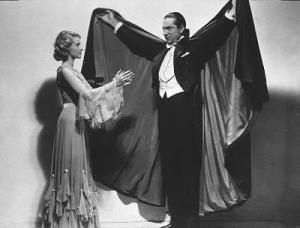 Bela Lugosi in the 1931 classic horror film...Dracula