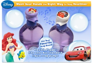 For only $3.99 you can get musical tunes to time your kids hand washing! ;-)