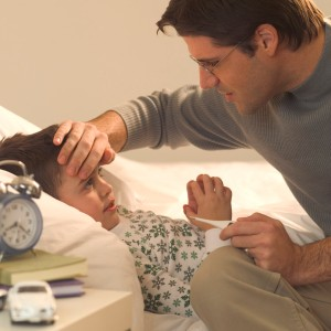 Fever, body aches, runny or stuffy nose, cough, sore throat and fever, headache, chills, fatigue diarrhea and vomiting.