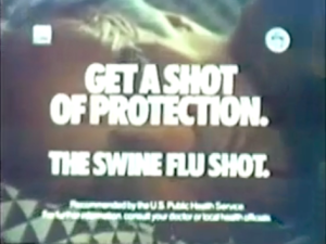TV Ads for the 1976 Swine Flu vaccination program