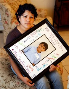 "Ruth Gomez says Max developed dangerous symptoms — bluish fingers and extreme fatigue after seeming to get better — just one day before he died. She took him to the doctor, but it was too late. ""We were in shock,"" Gomez said softly, still trying to wrap her mind around her little boy's Aug. 31 death."