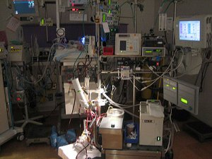 ECMO Machine in an ICU