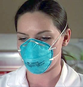 This study's findings contradict results presented at the recent ICAAC meeting that indicated that N95 masks may be more effective at preventing influenza transmission than surgical masks.