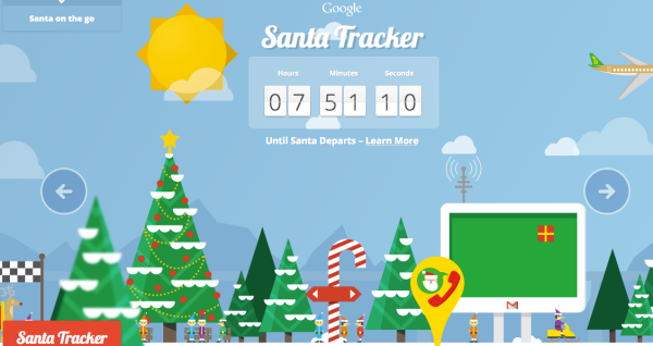 Google announced this week that since they were instrumental in tracking Santa since 2004 with Google Earth, that this year, a team of dedicated Google Maps engineers worked together to build a new route algorithm to chart Santa's journey around the world on Christmas Eve.