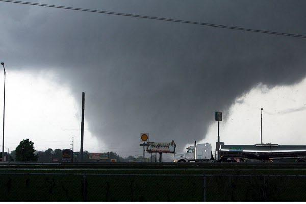 Tornadoes in January? Indeed…a wide area of the central and southeast US faced this unusual threat as an approaching cold front clashed with unusually warm air.